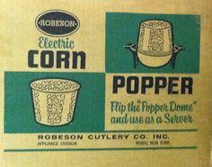 Robeson Electric Corn Popper