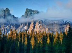 Lake Carezza Picture -- Reflection Wallpaper -- National Geographic Photo of the Day
