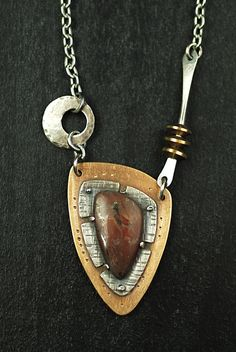Red Creek Jasper necklace by Maggie J | Flickr - Photo Sharing!