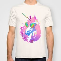 Glamoooooour unicorn princess tee!