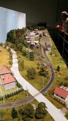 Dům vláčků - House of Model Trains Praha-Petřiny Part JHMD Local Railway of Jindřichův Hradec (Narrow gauge), H0 scale