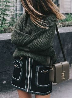 Warm winter outfit ideas for women style