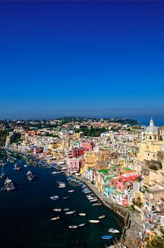 Postcard from Procida, Italy by © Fernando W