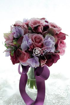 No.f0355・ウエディングブーケ(生花) | rosarium