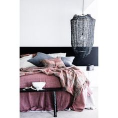 BED COVER | luca design in desert rose by eadie lifestyle Bohemian Decor, Dressing, Closet, Cozy Room, Sweet Home, Sweet Sweet, Gravity Home, Soft Furnishings, Bed Covers