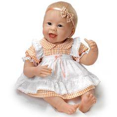 """Ashton-Drake Hold That Pose! """"Little Light of Mine"""" Baby Doll by Linda Murray  #AshtonDrake"""