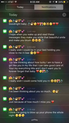how to make a girl love you through text messages