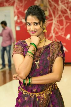 Pinga ga Pori look South Indian Bride, South Indian Actress, Beautiful Girl Image, Most Beautiful Women, Beauty Full Girl, Beauty Women, Girls Dp Stylish, Saree Models, Indian Beauty Saree