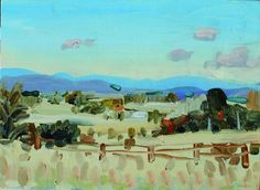 John Bokor : Clouds On The Road To Canberra 2   Wilson Visual Art Award