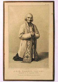 Novena To the Holy Curè of Ars: St. Jean Marie Baptiste Vianney: August 6: Day Seven: Dispeller of Satan : . . V. Saint Jo...