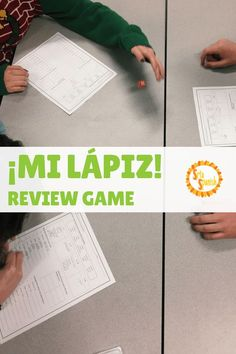 Low-Prep Review Game: ¡Mi Lápiz! - Srta Spanish