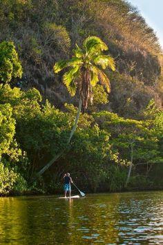 SUP in paradise - Kauai, Hawaii