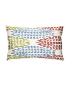 Made In Turkey Silk Meta Pom Pillow
