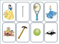 Κάρτες για την επιλογή ζευγαριών στο νηπιαγωγείο