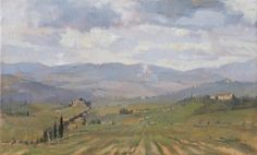 """Tuscan Hills"" - Tanvi Pathare 