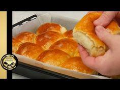 Νόστιμα ψωμάκια γιαουρτιού, σκέτος αφρός! - ΧΡΥΣΕΣ ΣΥΝΤΑΓΕΣ - YouTube Hot Dog Buns, Hamburger, Bread, Food, Youtube, Recipes, Brot, Essen, Baking