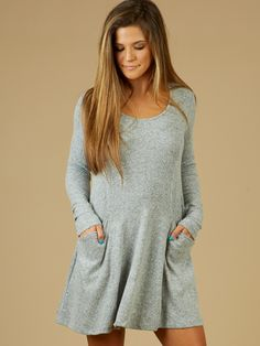 Altar d State Pauline Pocketed Sweater Dress 4254d614b