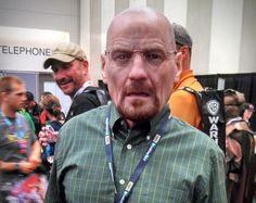 Bryan Cranston as Walter White during San Diego Comic-Con 2013.