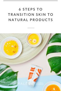 6 STEPS TO TRANSITION SKIN TO NATURAL PRODUCTS. organic and natural skincare.