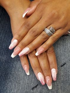 Gel Nails, Manicure, Nail Polish, Beauty Nails, Hair Beauty, Sparkle Nails, Fabulous Nails, Our Wedding Day, Nail Inspo