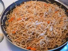 Vegetable Chow Mein - From the Hillbilly Housewife