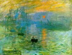 Soleil Levant by Monet