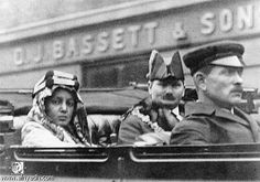 الملك فيصل في زيارة لبريطانيا العظمة
