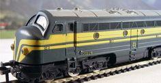 Fleischmann H0 - 1385 - Multifunctionele Diesel locomotief BR 202 van de NMBS/SNCB