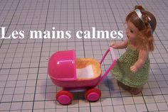 how to: miniature toy stroller for dollhouse