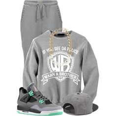 """Untitled #20"" by quiya on Polyvore Cheap Jordan Retro 4  Grade School only $61.2, save up to 59% off for all #Nikes #Shoes"