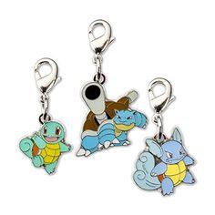 Squirtle Wartortle Blastoise Pokémon Minis (Evo 3 Pack)