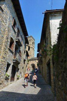 Calles medievales de Aínsa