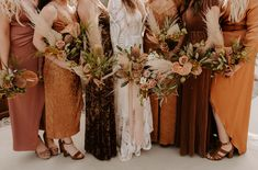 A monochrome color palette, desert inspired flowers, a fringe wedding dress and retro vibes- those are just the highlights from this rad wedding! Fringe Wedding Dress, Boho Wedding, Fall Wedding, Wedding Flowers, Dream Wedding, Wedding Ideas, Fringe Dress, May Wedding Colors, Wedding Bouquet