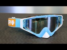 b2c2b674ff Spy Optic Omen MX Blue Groove Goggles from Motorcycle-Superstore.com -  YouTube Motorcycle