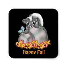 Fall Skunk sticker