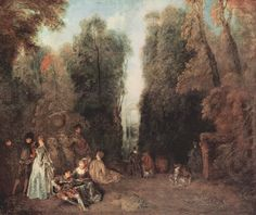 The view by @artistwatteau #rococo