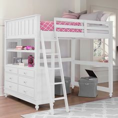 Rosenberry Rooms has everything imaginable for your child's room! Share the news and get $20 Off  your purchase! (*Minimum purchase required.) White Lake House Loft Bed
