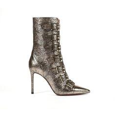 f871e75c16895a Cesare Paciotti Women s Buckled Raputin Rame Leather Copper Boots (CPW4619)