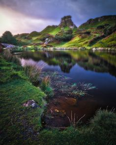 """lightsweep: """" The Perch on Castle Ewen When Lisabet and I arrived at the Fairy Glen for some exploration, this was the first scene we came across. There was only us here. So, so quiet… This delightful little pond was hinting at some lovely..."""