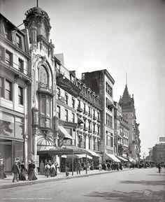Boston, Massachusetts, circa 1906.
