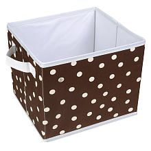 Got these cute bins from babies r us...just wish anyone made a matching closet organizer (hanging shelves) to match!