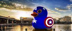 Captain Duck by casperhsiao@Mobile01