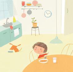 friends-girl&dog-kitchen.jpg