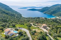 Entire home/flat in Poros, Greece. Villa Erato is built on a high spot of the hill overlooking Poros village and the sunny beach of Mikros Gialos, offering a breathtaking view of the absolute blue of the Ionian sea. The distinctive combination of amazing view, modern amenities, pri...