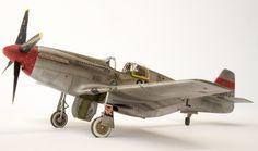 P-51B MUSTANG Model from Tamiya 1/48