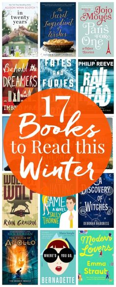 These 17 Books to Read This Winter are the best mix of fiction, fantasy, YA, chick lit, and historical fiction, there's sure to be at least one you'll want to add to your own to your own reading list! via @sugarandsoulco