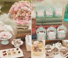 Confira todos os detalhes de uma decoração pra lá de romântica.