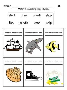 Digraph Worksheets : Sh, Ch, Th, Wh, Ph, EE, OO | Ph and Worksheets
