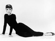 "Audrey Hepburn. ""Sabrina Fair"" 1954, ""Sabrina"" Directed by Billy Wilder. Diseñador: Givenchy Photographic Print at AllPosters.com"