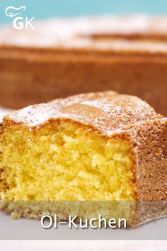 With the help of this recipe, a juicy oil cake is quickly prepared. - With the help of this recipe, a juicy oil cake is quickly prepared. It just always works and tastes - Bread Recipes, Cake Recipes, Dessert Recipes, Oil Cake, Egg Recipes For Breakfast, Cupcakes, Vegan Cake, Banana Pudding, Food Cakes